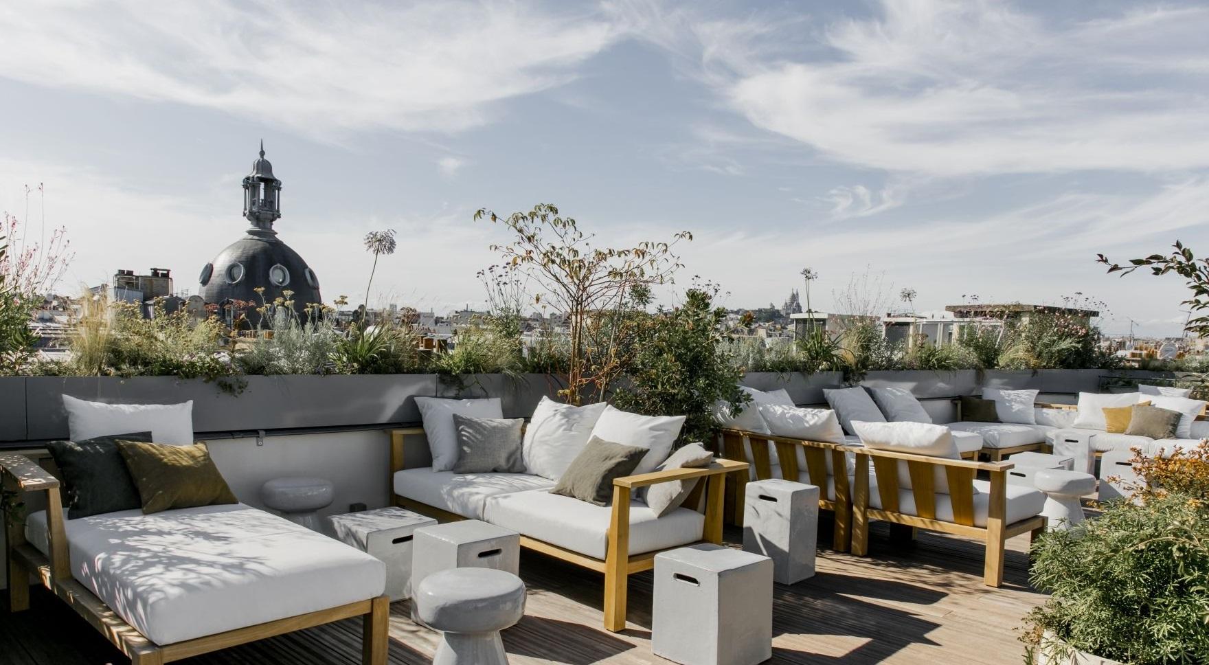 rooftop de l h tel national des arts et m tiers vue 360 paris. Black Bedroom Furniture Sets. Home Design Ideas